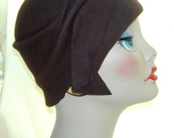 Custom vintage inspired handmade cloche Miss Fisher