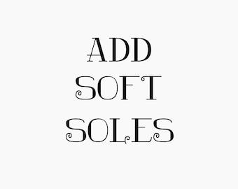 Soft Soles for Crochet Slippers