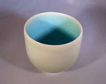Celadon Yunomi (Japanese style tea cup)