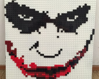 Why So Serious? Lego Mosaic
