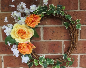 Vibrant Summer Wreath
