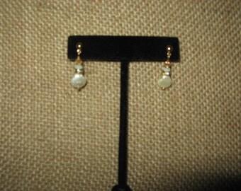 MN made, unique swarovski, czech, crystal, glass, beads, earrings.