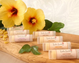 CLEARANCE! Honey Bee Lip Balm - Lulu Lovely Naturals