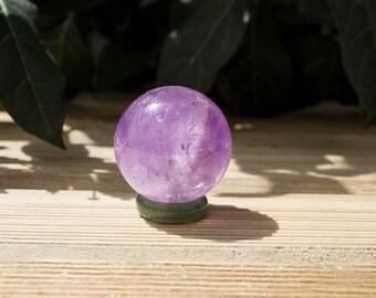 Lovely Purple Amethyst Sphere