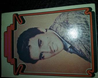 ELVIS trading card