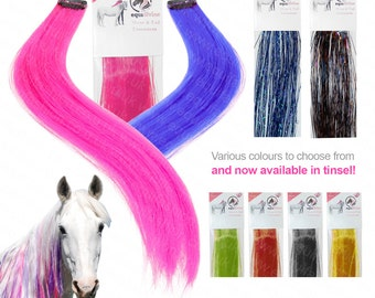 Equidivine Horse Mane & Tail Colour Extensions set of 3