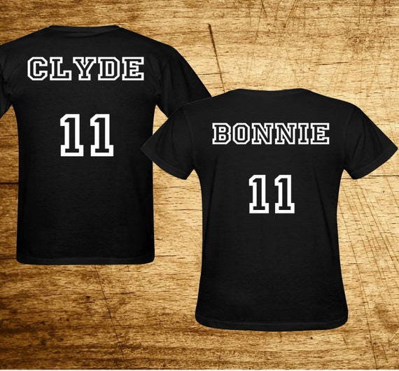 bonnie and clyde shirts bonnie clyde couples by danielstees. Black Bedroom Furniture Sets. Home Design Ideas