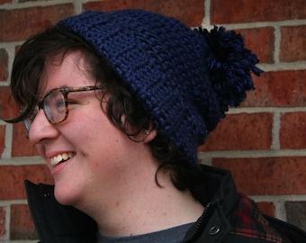 handmade crochet beanie slouchy hat