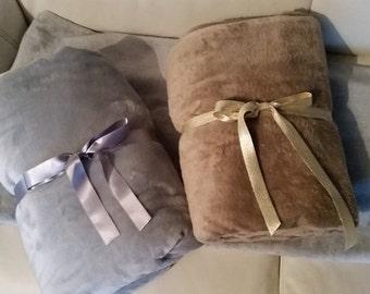 Soft fabric Plaid