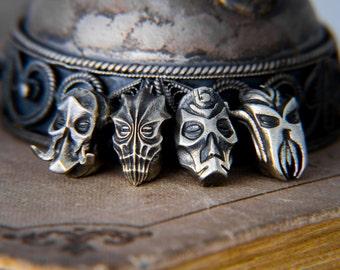 The elder scrolls Dragon Priests Masks beads for bracelet