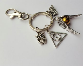 Harry Potter Keychain Bag Purse Clip