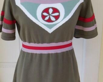 Vintage Cacharel Tunic Style Top - Size 10/12 UK