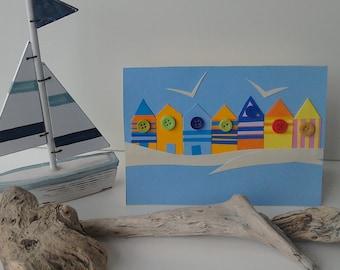 Windy day card