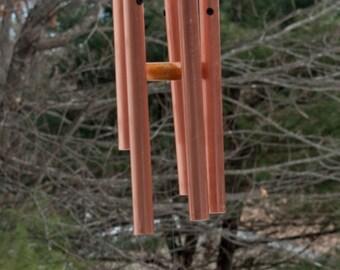 """3/4"""" Copper Pipe Chimes"""