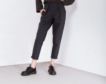 Black pants, handmade