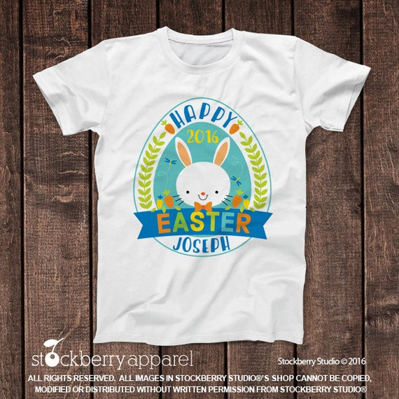 Kids easter shirts personalized easter shirt custom for Baby custom t shirts