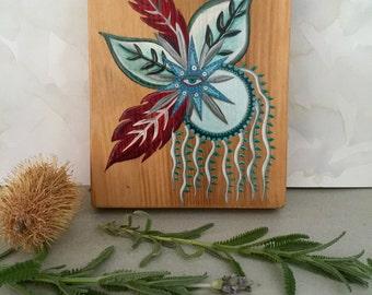 Gift Eye Painting ~ Original Oil on Wood
