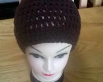 Hand Crocheted Slouch Hat