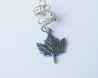 leaf dread bead