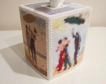 Beach Tissue Box