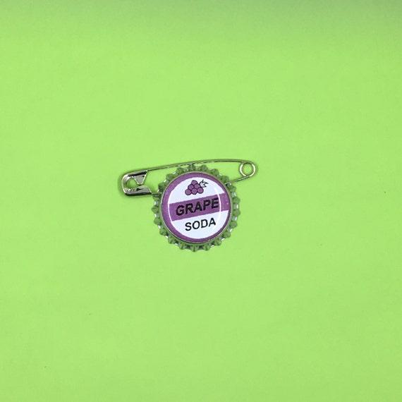 20 Up Grape Soda Pin Grape Soda Badge With Safety Pin 20
