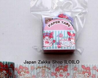 "Japan Washi Tape,Sanrio Wide Washi Tape""My Melody B"",masking tape,paper tape,kawaii"