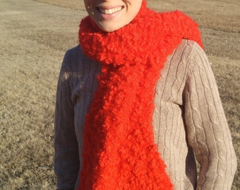 Red Sparkle Scarf