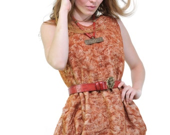 "off 20% SALE Nuno felted dress ""Сherry"""