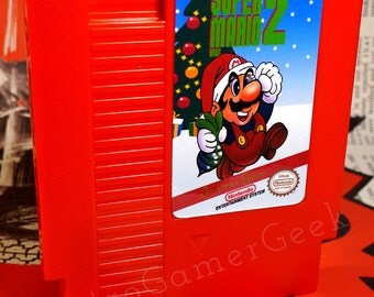 Super Mario Bros. 2 Christmas Edition Awesome Fan Made NES Game