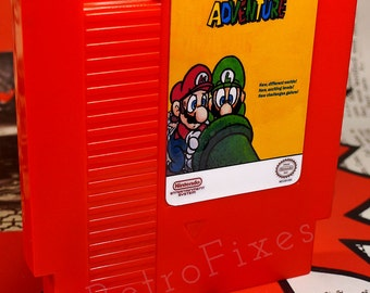 Mario Adventure Awesome Fan Made NES 8bit Game