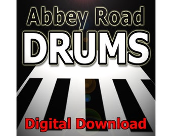 Abbey Road Drums - acoustic drum kit samples - digital download - FREE SOFTWARE!