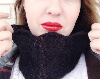 Knitting PATTERN Asenyi Lace Cowl