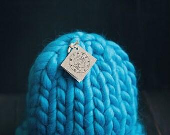 Super Chunky Hat, Hand knit Hat, Slouchy Hat, Helsinki Hat, Merino Wool Hat