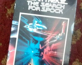 Star Trek III: The Search for Spock video
