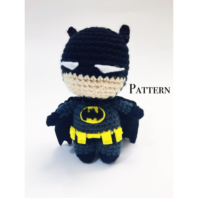 Batman Amigurumi - PDF Pattern from kokorocrochet on Etsy ...