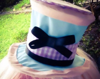 Pastel Mad Hatter: Mini Clip-On Top Hat