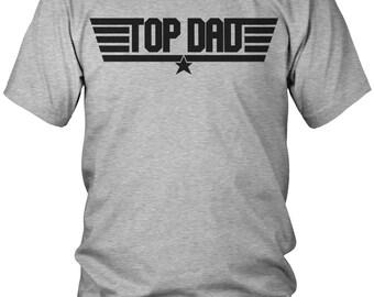 Top Dad T-Shirt, Proud Dad, Loves Kids, Papa, Daddy, Dada, Parent, Best Dad, Men's Top Dad Shirts AMD_1689