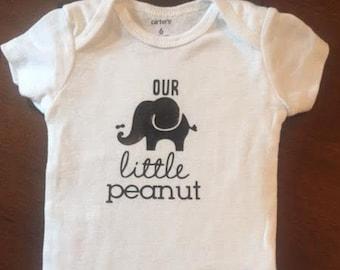 Our Little Peanut Baby Onesie