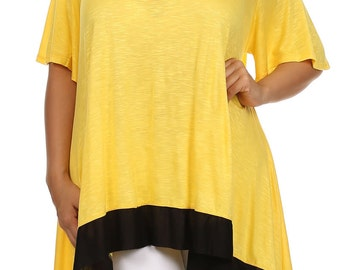 Plus size clothing Top - Tunic