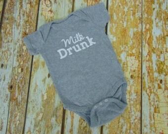 Milk Drunk Bodysuit, Breastfeeding Bodysuit