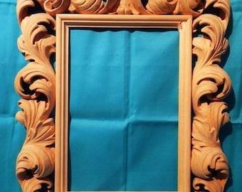 Carved frame / Резная рама