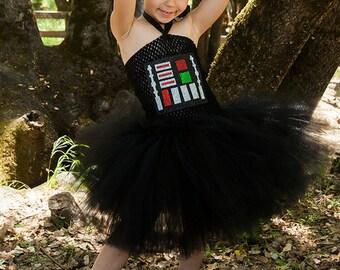 Darth Vader tutu dress - Darth vader costume -  Star wars costume - BB8 - Chewbacca - r2d2 - yoda - c3po - star wars birthday party