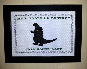 Godzilla Blessing