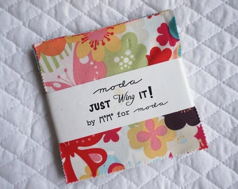 Just Wing It - Charm Pack - 42 pieces - By Momo - Moda Fabric