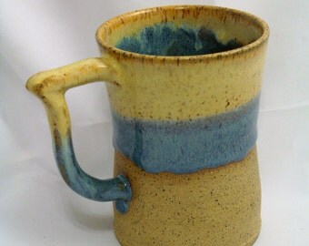 16 oz Wheel Thrown Stoneware Mug