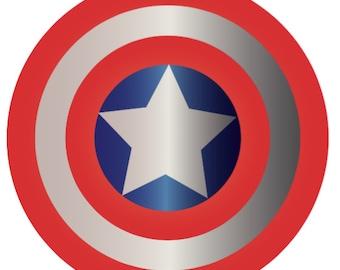 Captain America Shield - INSTANT DOWNLOAD