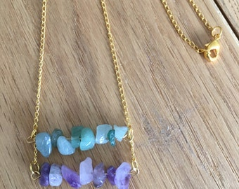 SALE - Amethyst & Arrow Necklace ~ gold necklace - Discounted prices - last chance sale - Fashion Jewelry