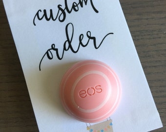Custom EOS Lip Balm Holder for 20 cards