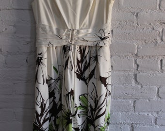 Retro 50's Creme Dress