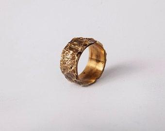 Light ring from brass